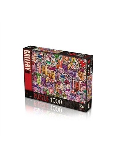 KS Puzzle KS Puzzle 20550 City Of Colors Temalı 1000 ParÇa Puzzle Renkli